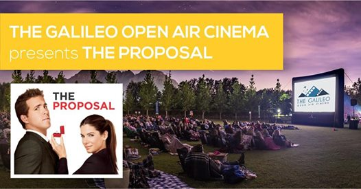 Open Air Cinema: The Proposal : Meerendal Wine Estate