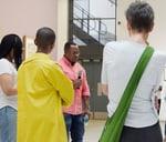Leshoka Joe Legate and participating artists Talkabout. : Wits Art Museum