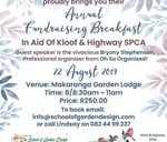 The School of Garden Design Breakfast : Makaranga Garden Lodge