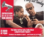 Expression Session Kuila - March : The Daily Coffee Cafe Kuilsriver