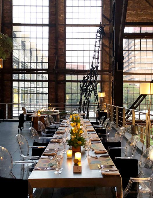 Dinner on the Deck : Turbine Hall