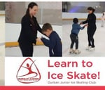 Learn to Ice Skate : Durban Ice Arena