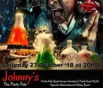 """Mad Lab Halloween Party : Johnny""""s The Party Pub"""