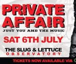Private Affair: A night of 90's & 00's Hip Hop and R&B : Private Affair