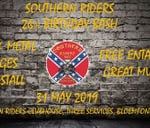 Southern Riders 26th Birthday Bash : Three Services