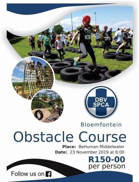 Bloemfontein SPCA: Bloemfontein SPCA Obstacle Course