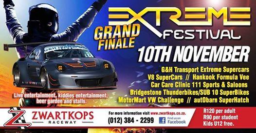 Grand Final Extreme Festival : Zwartkops Raceway