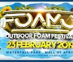 Foamo Festival - The Ultimate Foam Experience : Waterfall Park