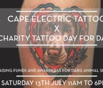 Charity Tattoo Day For DARG Animal Rescue : Cape Electric Tattoo