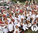 Doek On Fleek All White Zeerust #GcwalaNgeDoek Countdown : Badiri Gardens- Events, Weddings & Massage Spa Venue