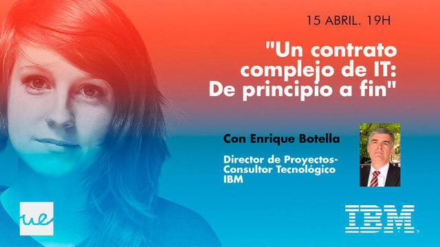 Masterclass estudiantes UE con IBM con Enrique Botella