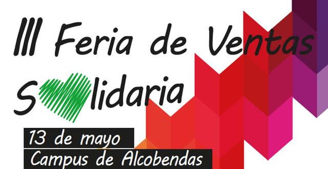 III Feria de Ventas Solidaria en el Campus de Alcobendas