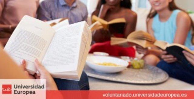 Actividad de Voluntariado: Club literario virtual con personas con discapacidad