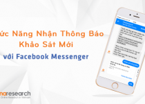 Chức Năng Nhận Thông Báo Khảo Sát Mới Từ Vinaresearch Thông Qua Facebook Messenger