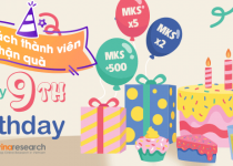 Danh sách thành viên nhận quà mừng sinh nhật lần 9 của Vinaresearch