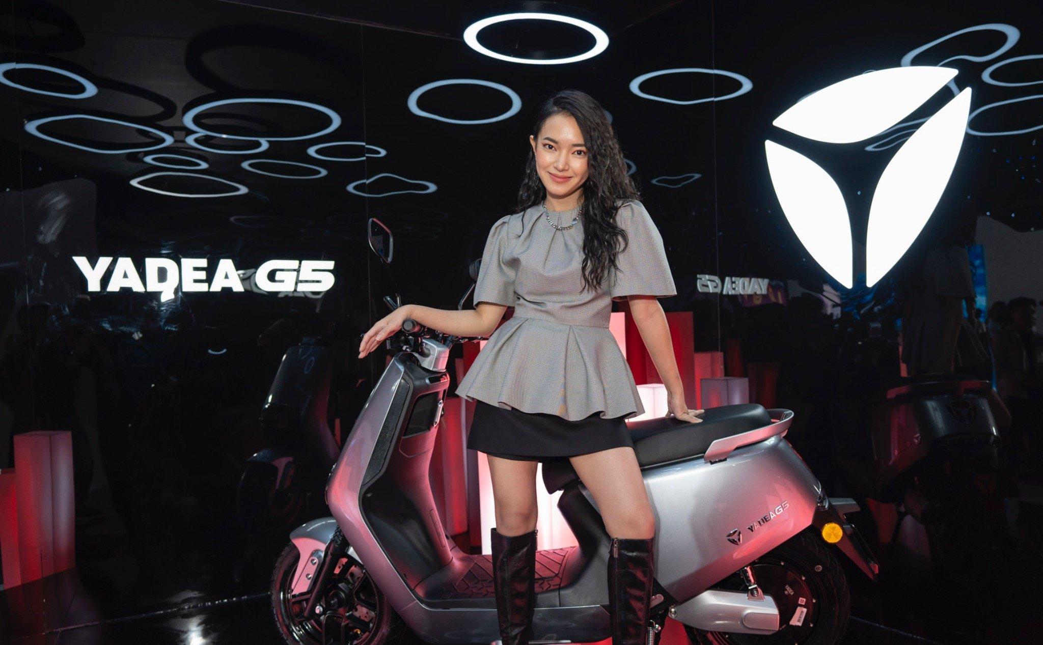 Nổi bật và phong cách cùng xe máy điện Yadea G5