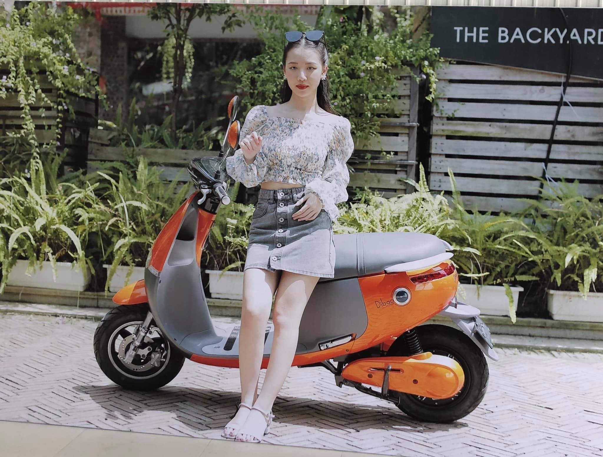 Xe máy điện Gogolo Dibao với kiểu dáng độc đáo và hiện đại