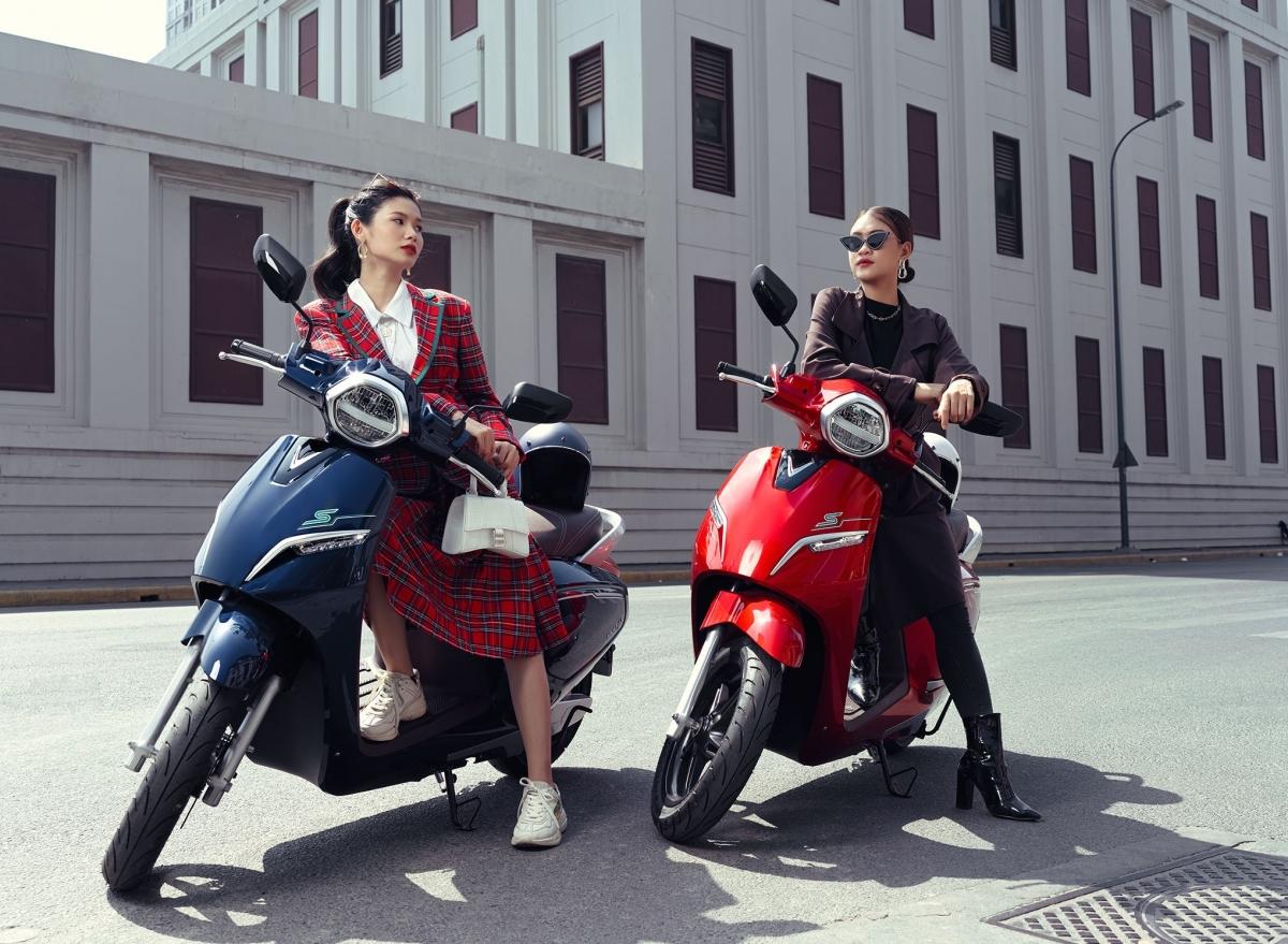 Xe máy điện VinFast Klara tôn vinh vẻ đẹp phái nữ
