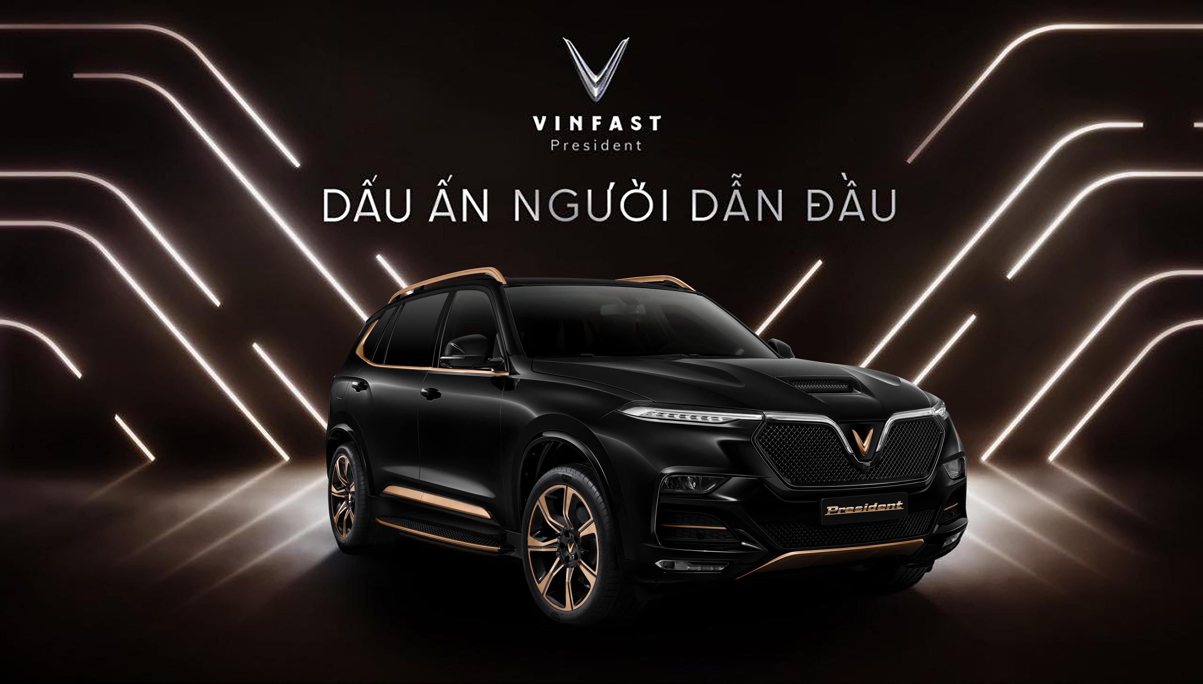 18 mau xe VinFast President 1