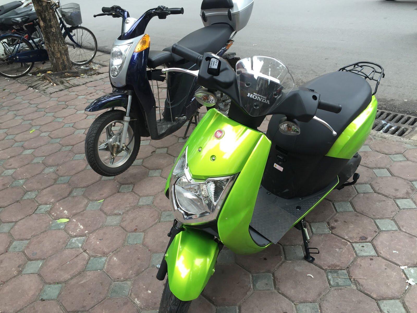 Xe máy điện Honda Prinz (Nguồn:websosanh.vn)