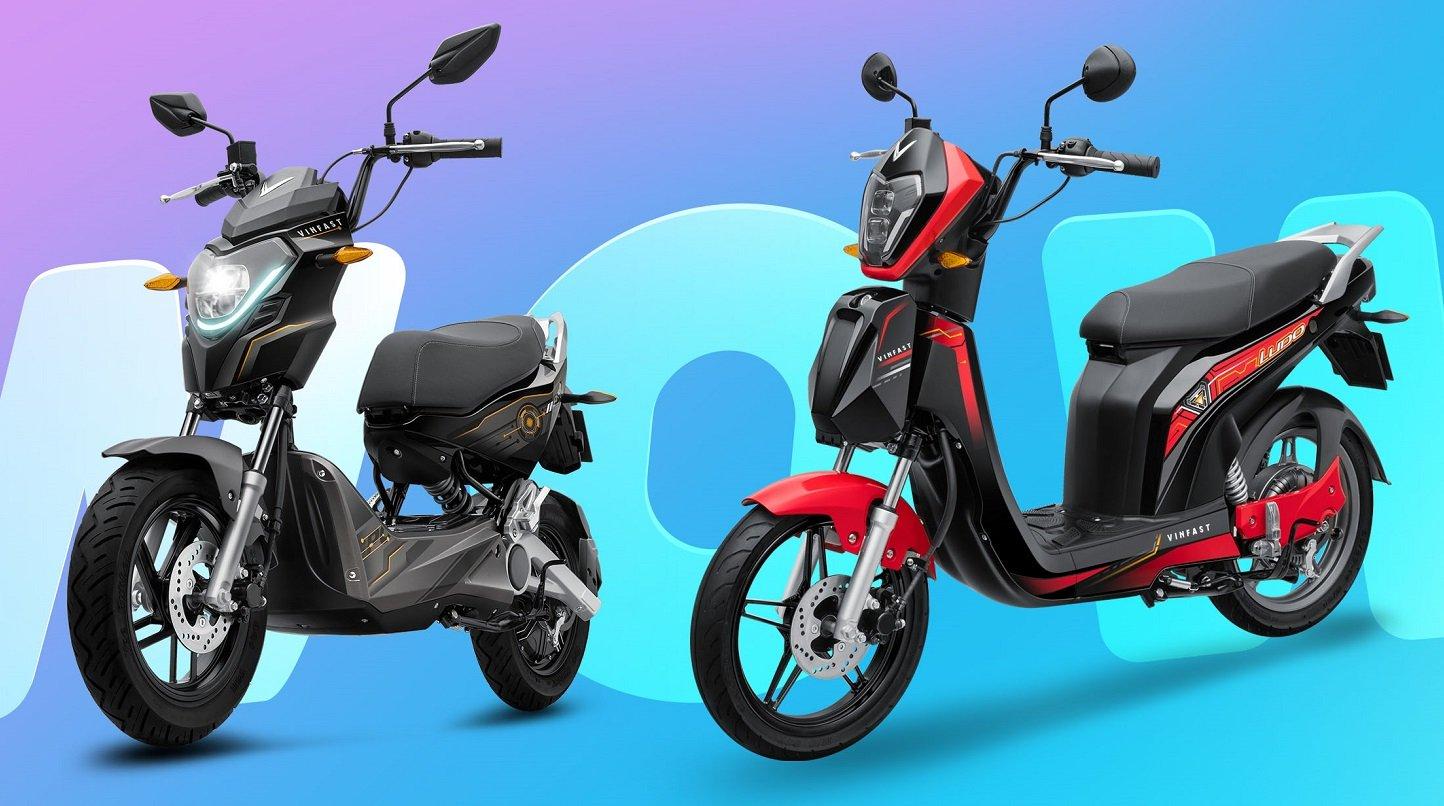 Xe máy điện VinFast Ludo và Impes nhỏ gọn, giá thành phù hợp với đối tượng học sinh