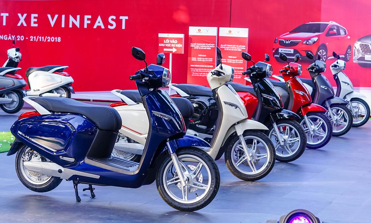 Thị trường xe máy điện ngày càng có sự khởi sắc hơn (Nguồn: cdn.tgdd.vn)
