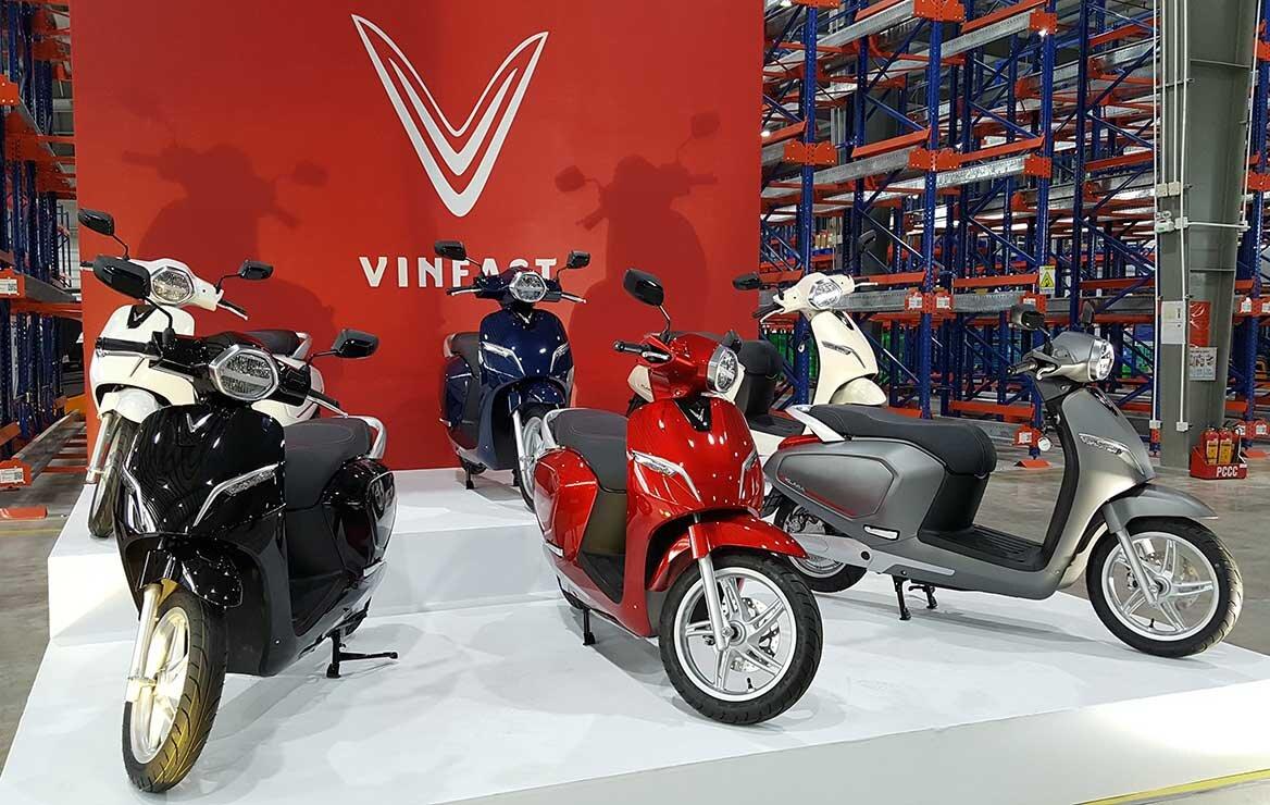 Xe máy điện VinFast có thiết kế rất đa dạng và ấn tượng (nguồn: img.websosanh.vn)