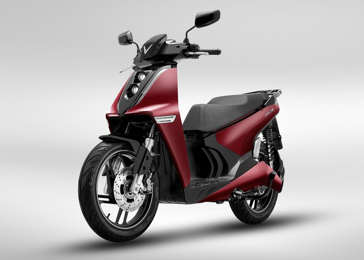 Xe máy điện VinFast Theon khỏe khoắn cá tính(nguồn: media.vov.vn)