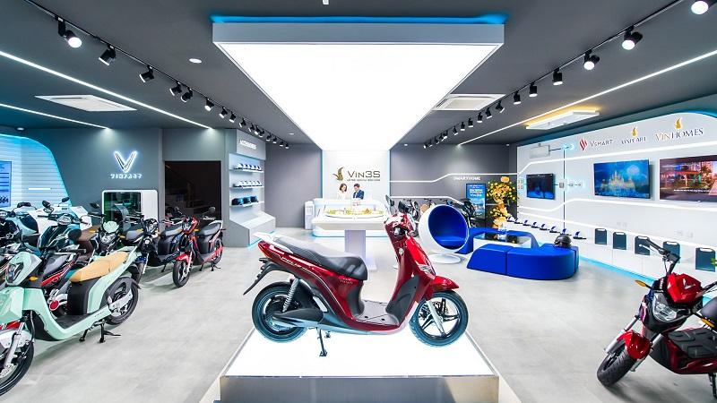 Showroom xe máy điện của VinFast