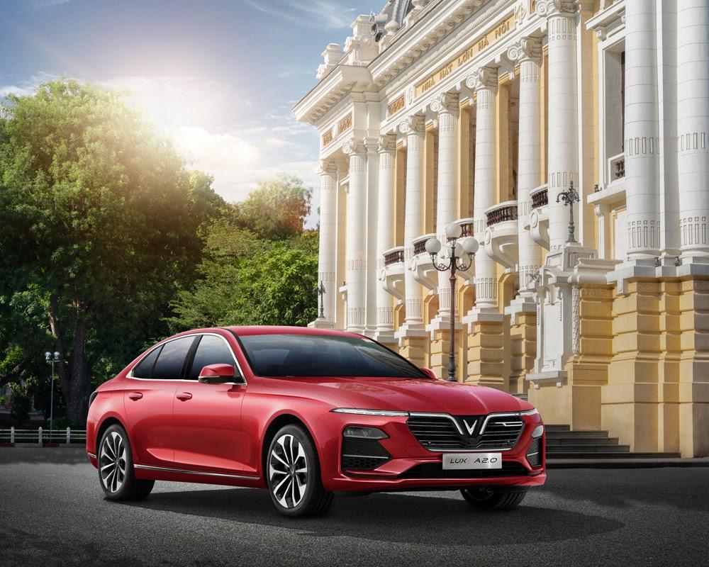 VinFast Lux A2.0 la chiec Sedan dau tien cua Viet-Nam