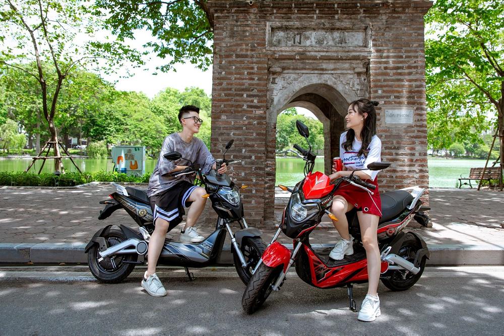 Xe máy điện VinFast Impes phong cách thể thao năng động (Nguồn xediensmile.com)