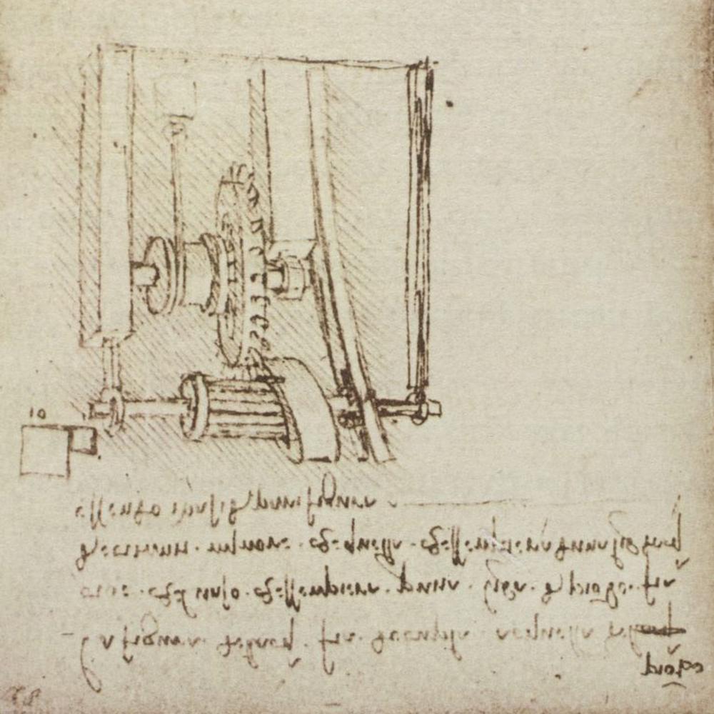 ban ve hop so cvt cua Leonardo Da Vinci