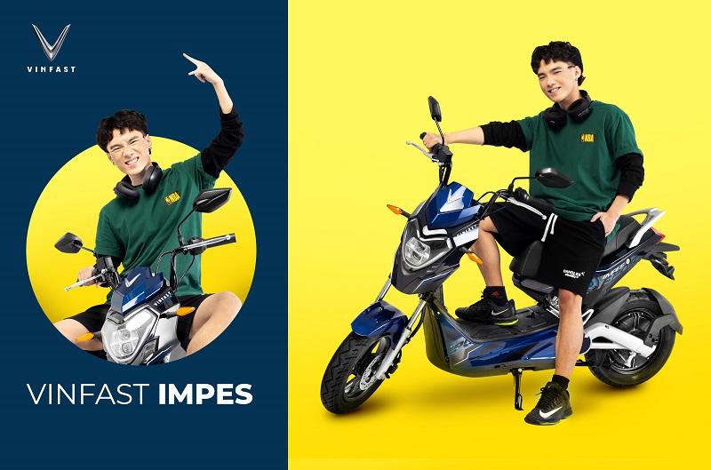 Xe máy điện VinFast Impes nổi bật với vẻ cá tính, năng động