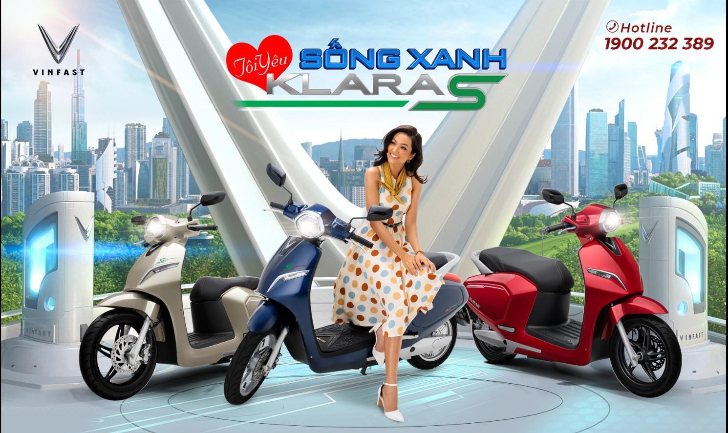 VinFast Klara S sử dụng pin Lithium bảo vệ môi trường