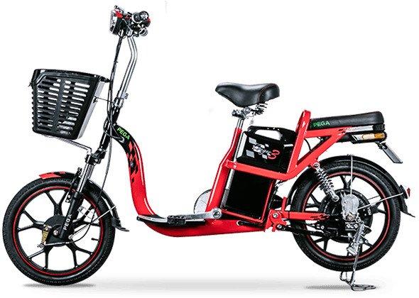 Xe máy điện Pega Zinger kiểu dáng bắt mắt, nhỏ gọn