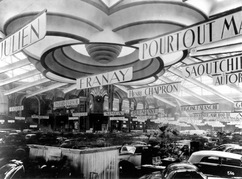 triển lãm paris motor show 1946