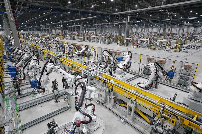 Nhà máy sản xuất xe điện VinFast tại Hải Phòng