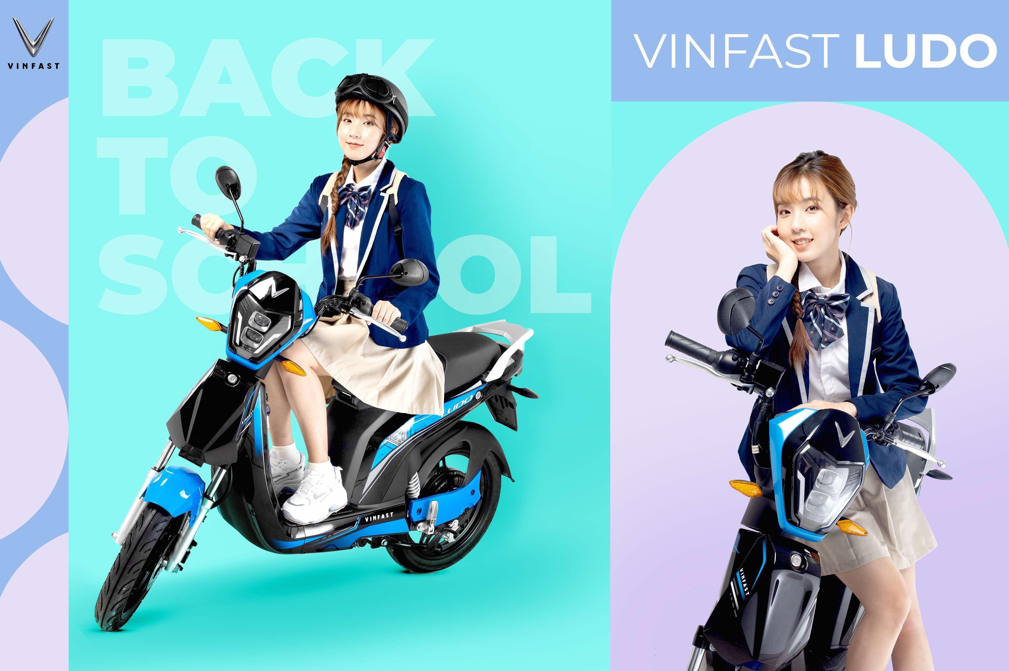 VinFast Ludo có thiết kế trẻ trung, năng động