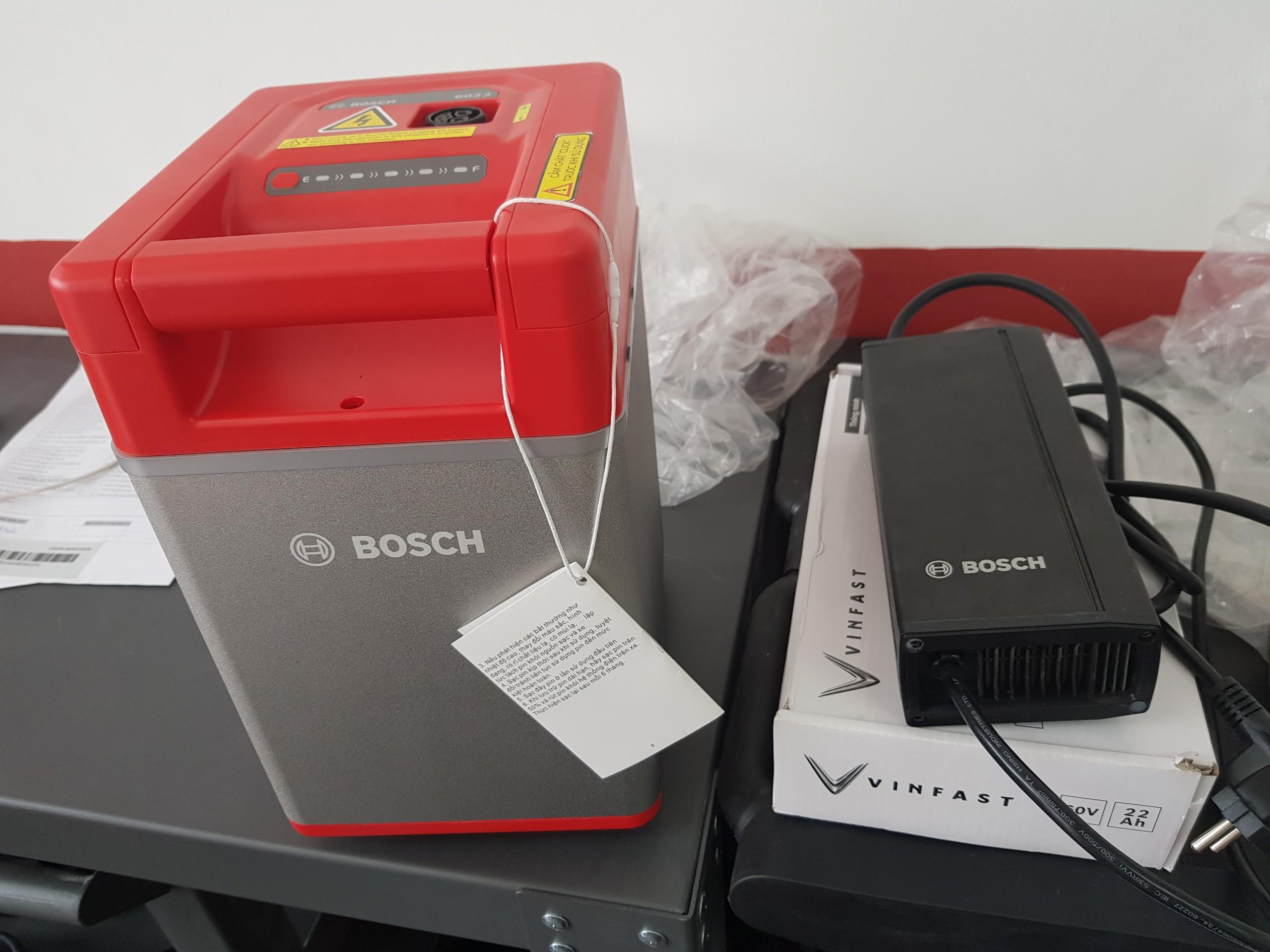 Xe máy điện VinFast sử dụng pin của thương hiệu Bosch