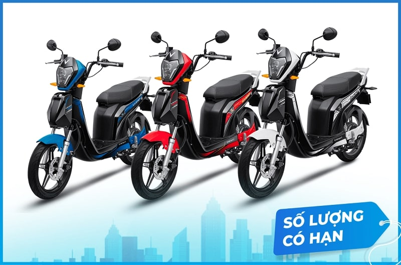 Rất nhiều chương trình ưu đãi hấp dẫn dành cho xe máy điện Ludo
