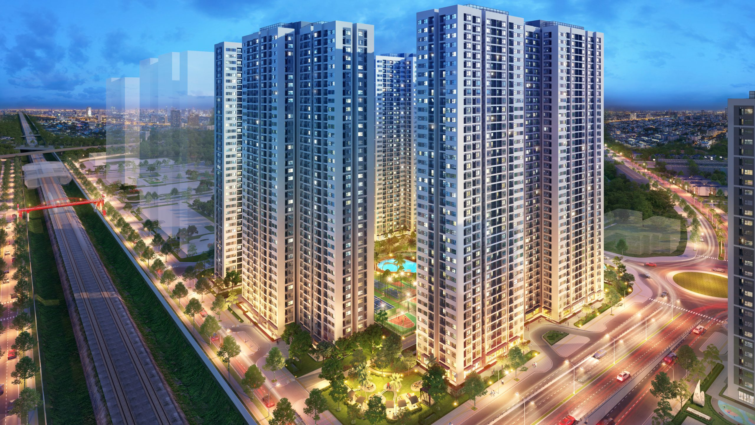 hinh anh nang tam cuoc song voi he sinh thai tien ich vinhomes smart city so 14