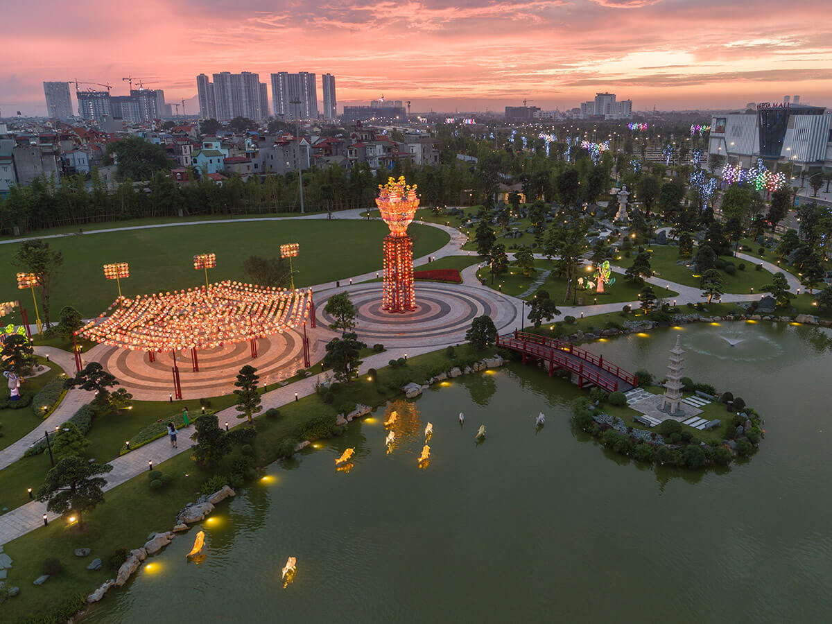 hinh anh nang tam cuoc song voi he sinh thai tien ich vinhomes smart city so 04