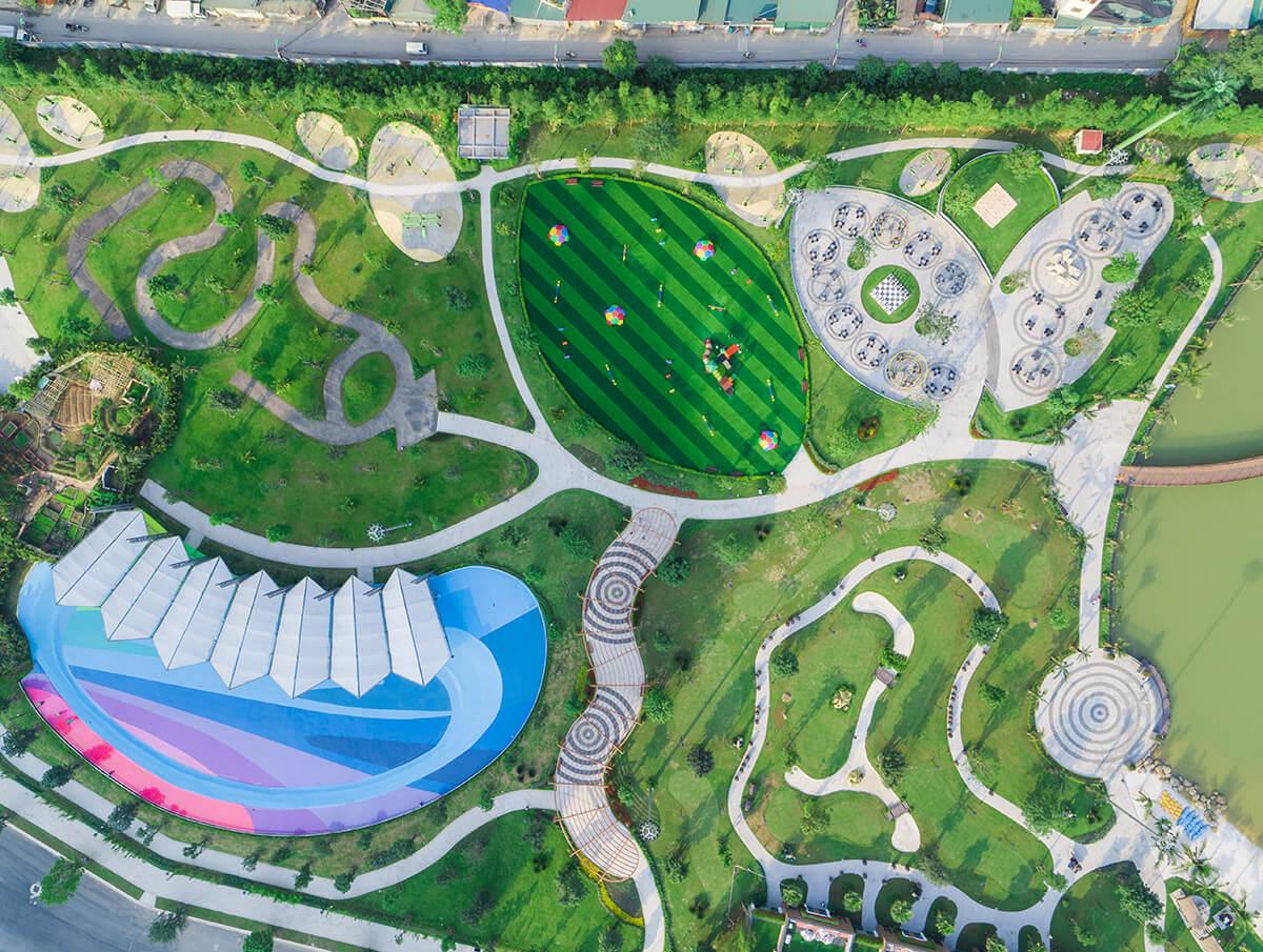 Tiện ích Vinhomes Smart City - công viên Central Park