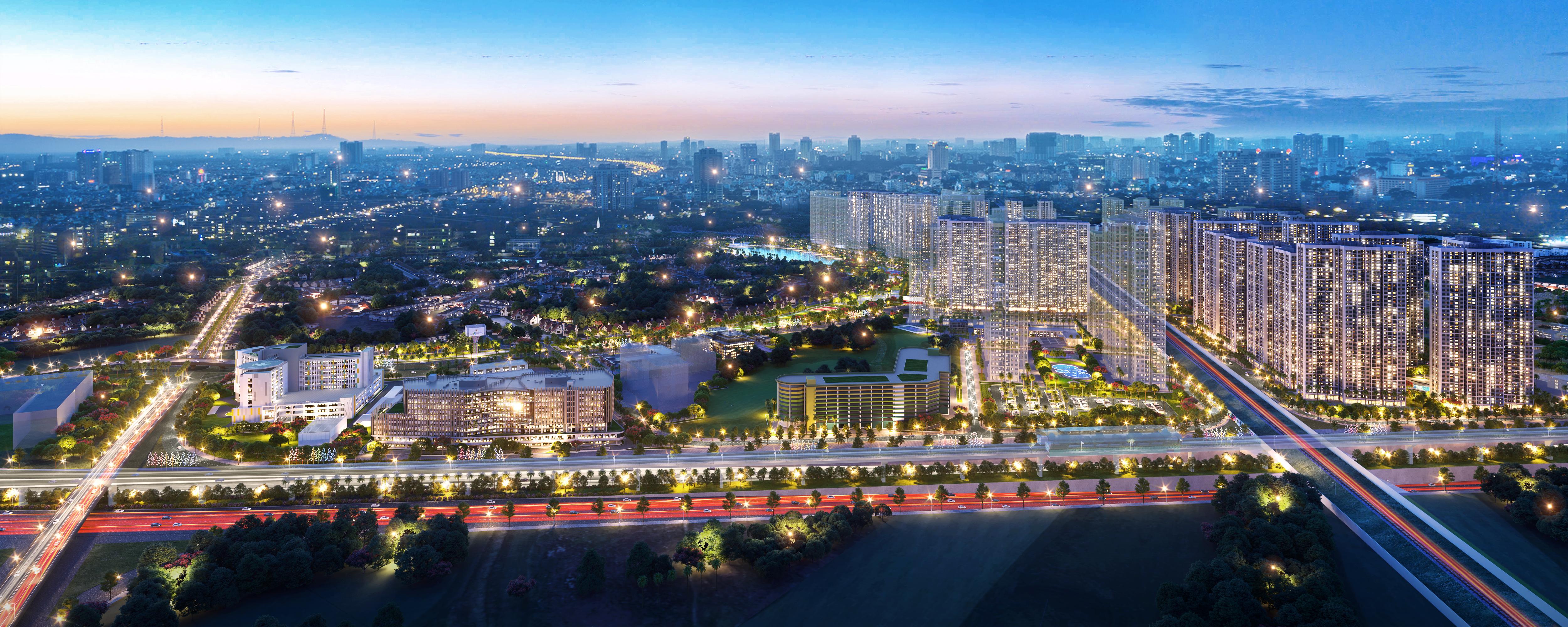 hinh anh Vincom Mega Mall Vinhomes Smart City tam diem vui choi mua sam phia Tay thu do so 01