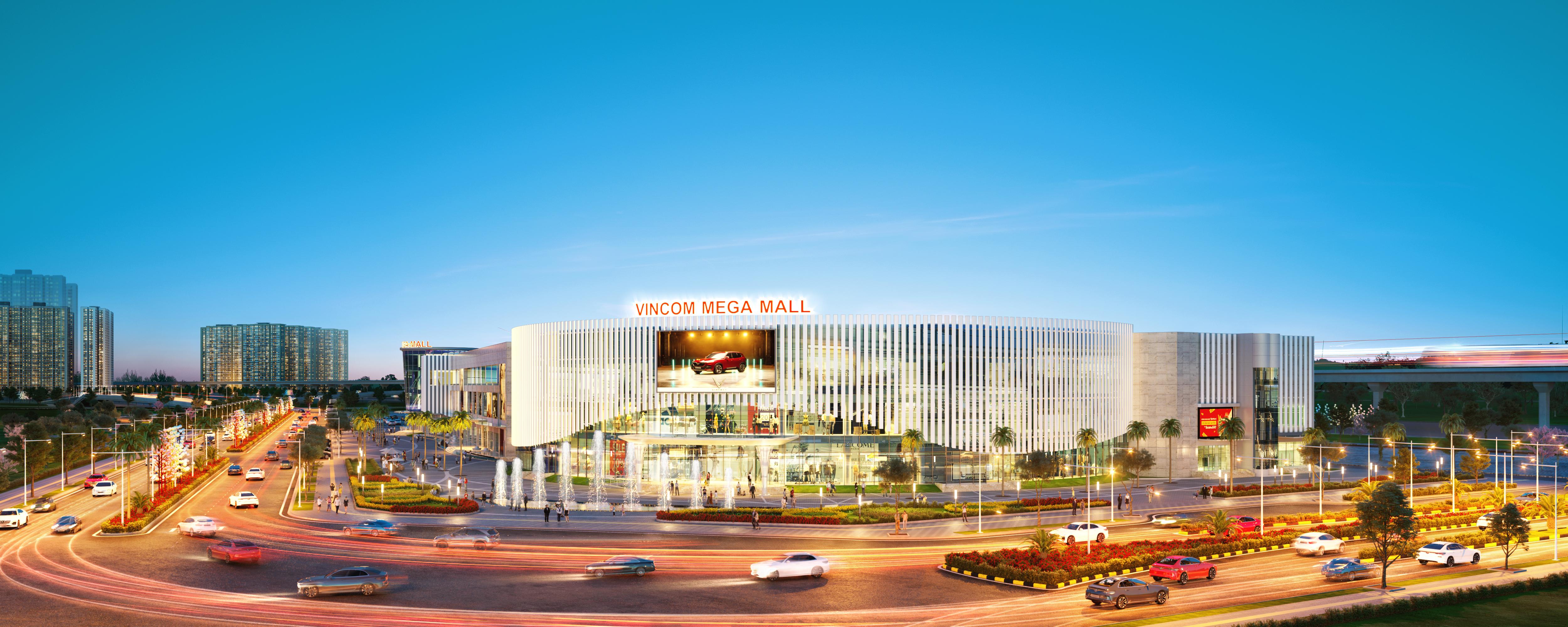 hinh anh Vincom Mega Mall Vinhomes Smart City tam diem vui choi mua sam phia Tay thu do so 04
