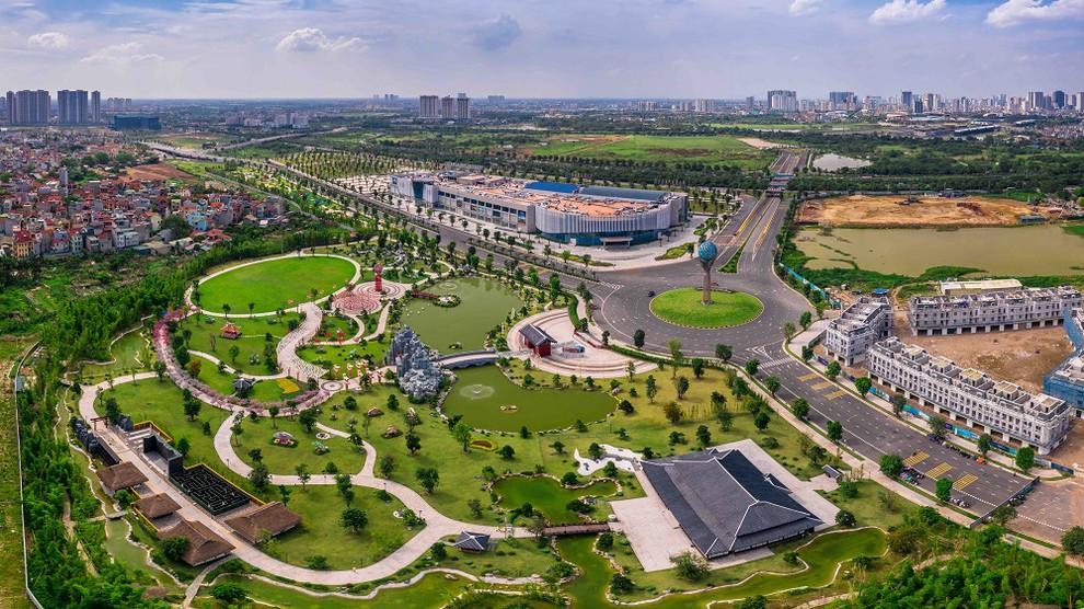Vườn Nhật - Tiện ích ngoài trời Vinhomes Smart City