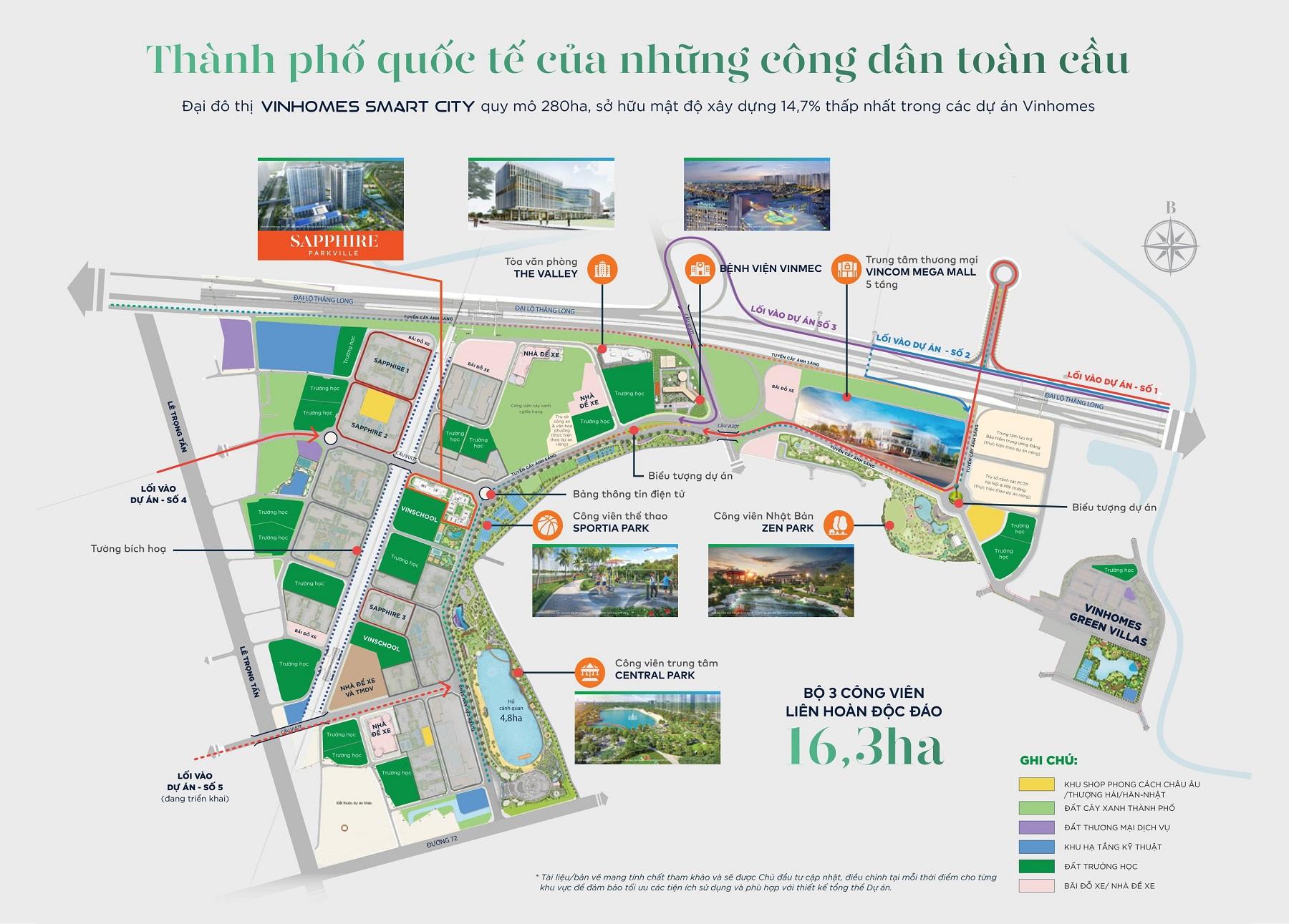hinh anh kham pha cong vien the thao Vinhomes Smart City so 1