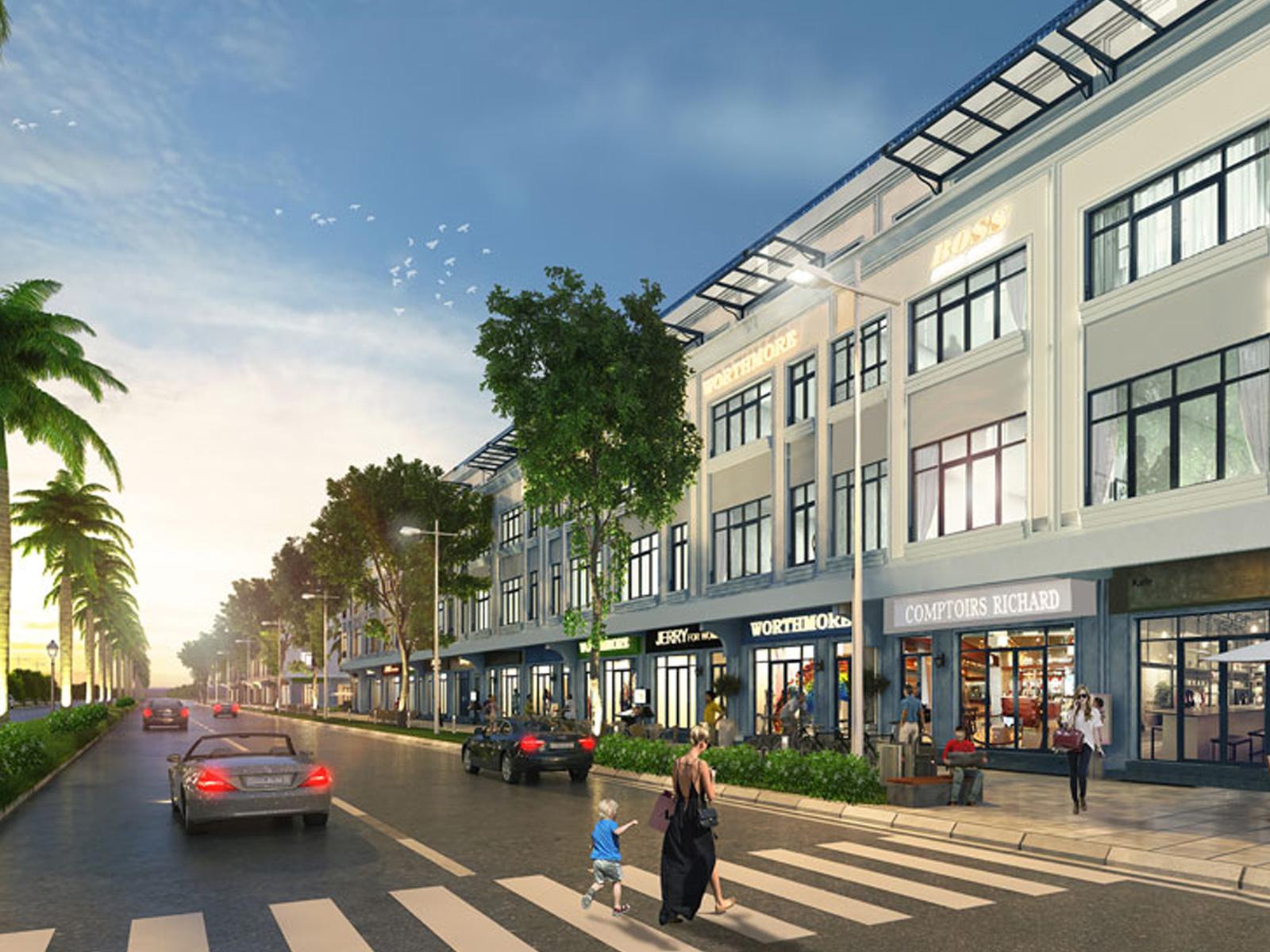 Nhà phố thương mại (Shophouse) Vinhomes được thừa hưởng trọn vẹn tiện ích, cảnh quan xung quanh của các đại đô thị