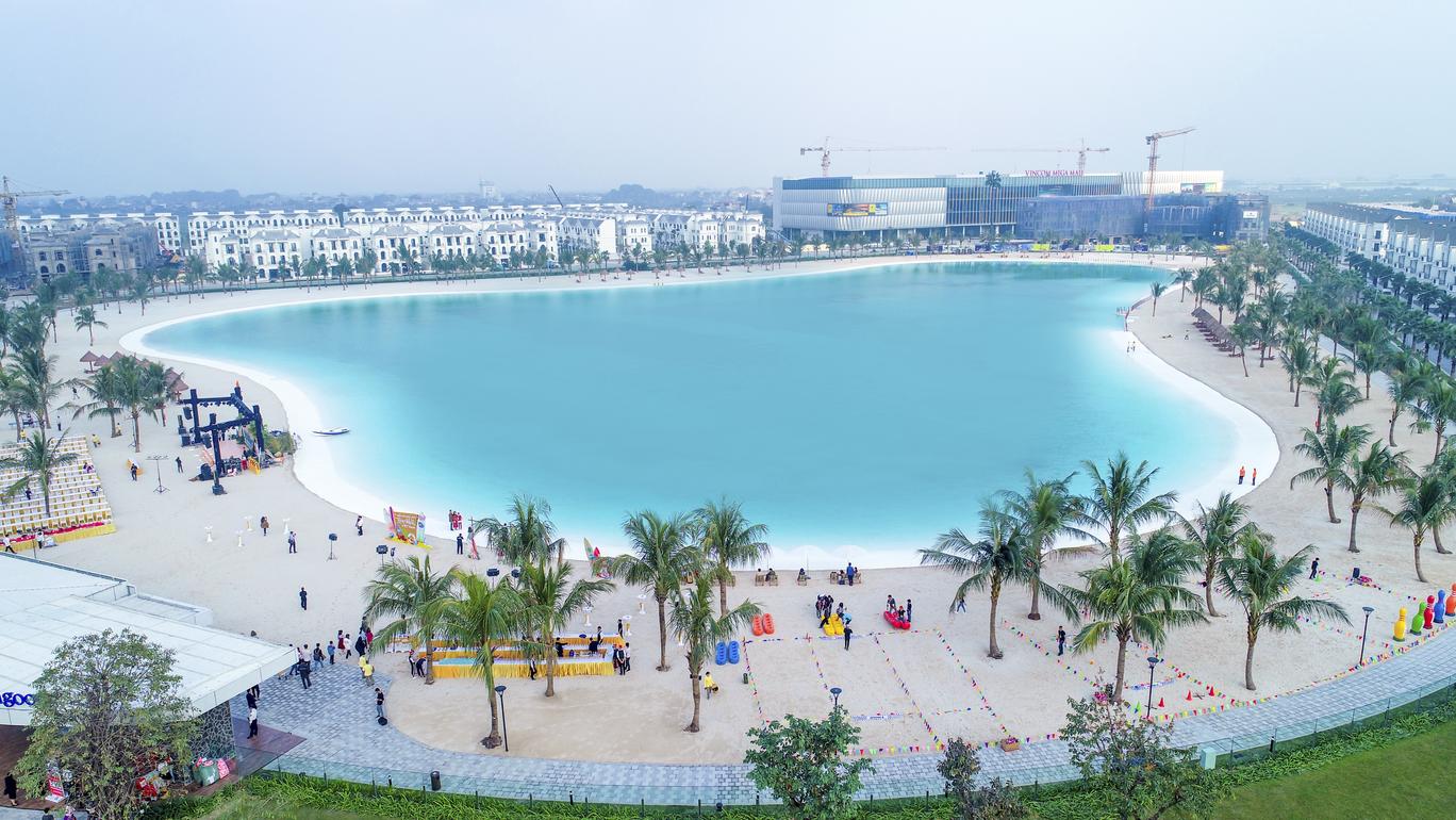 hinh anh tong quan vi tri vinhomes ocean park - thanh pho bien ho trong long Ha Noi so 4