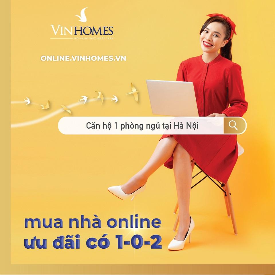 Hinh anh Vinhomes Online mua nha an toan trong mua dich so 2